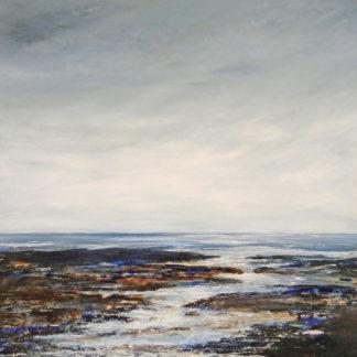 Colours in the near shoreline, acrylic