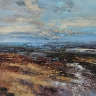 landscape painting by Claire Wiltsher