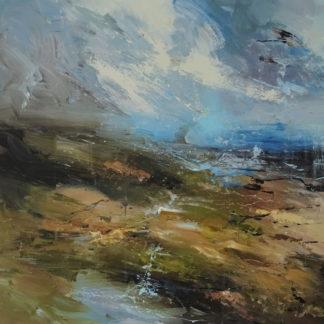 Claire Wiltsher landscape painting.