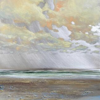 Silky Sea oil on aluminium by Stiliana Alexieva