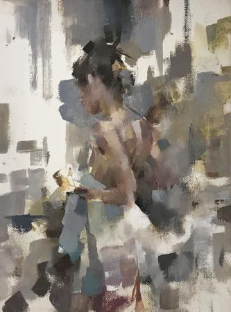 Nude-with-white-robe