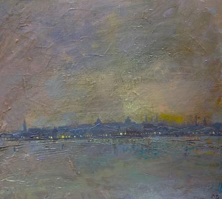 Dusk-across-the-Venetian-Lagoon