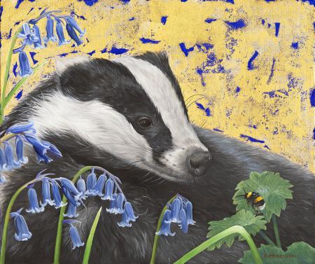 Badger-&-Bluebells