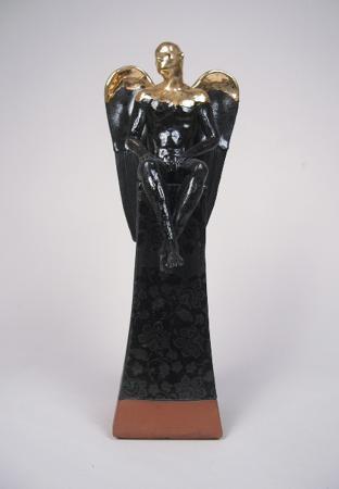Ceramic Seated Angel