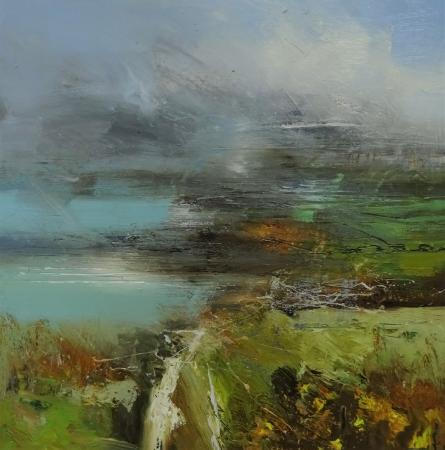 oil on canvas by Claire Wiltsher