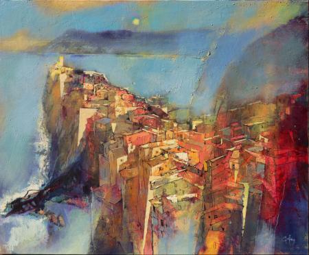 Moment-of-life-in-Vernazza-(Cinque-Terre)-