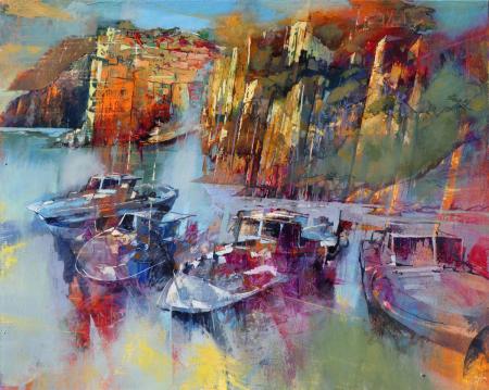 Riomaggiore-between-rocks-and-sea-