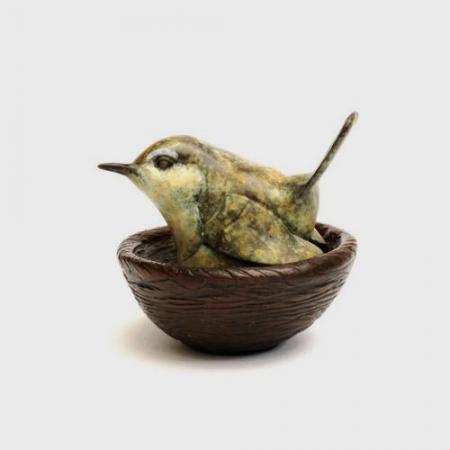 Wren-on-nest