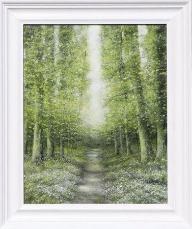 Enchanted-Cow-Parsley-Path-56x67cm-Oil-on-Panel