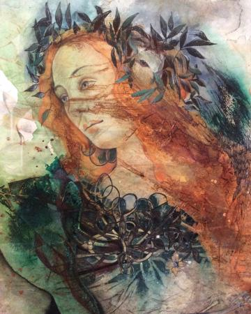 Minerva, after Botticelli
