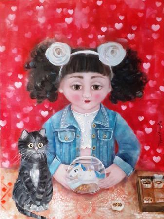 A-Irene-le-gusta-mi-gato,