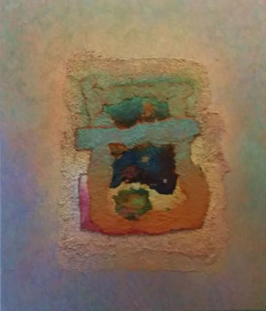 Abstract, mixed media