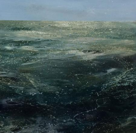 Seascape, oil