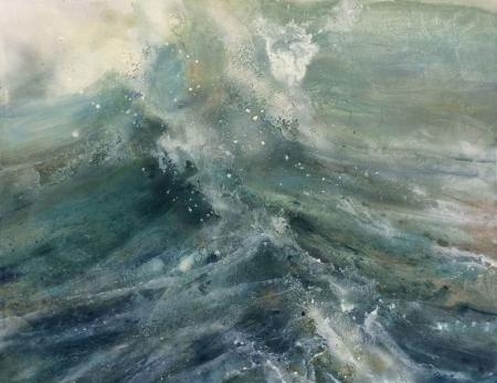 Sea swell, oil