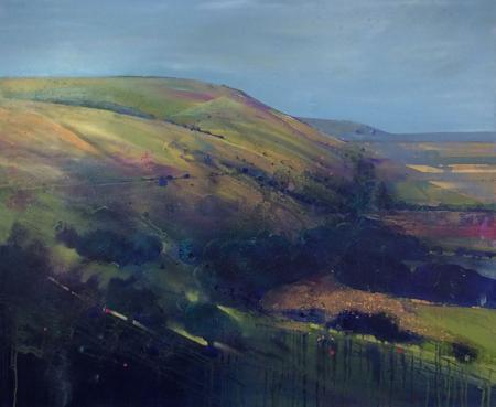 View truleigh hill, oil