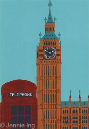 big-ben-with-red-telephone-box